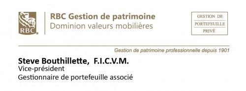 Logo RBC Steve Bouthillette